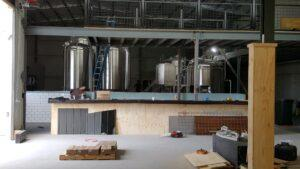 Dainton Brewery & Taphouse under construction