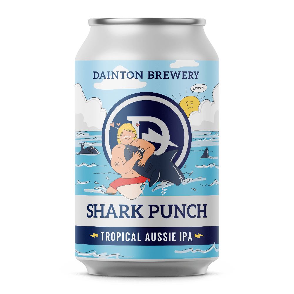 Dainton Brewery Shark Punch Tropical Aussie IPA