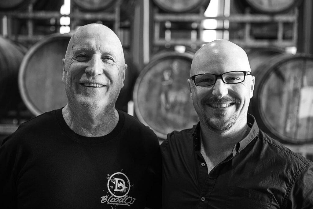 Kev and Dan Dainton of Dainton Beer