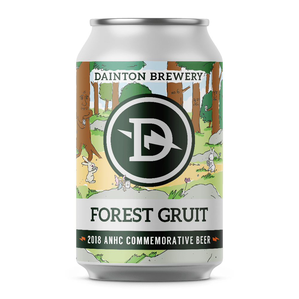 Dainton Brewery Forest Gruit
