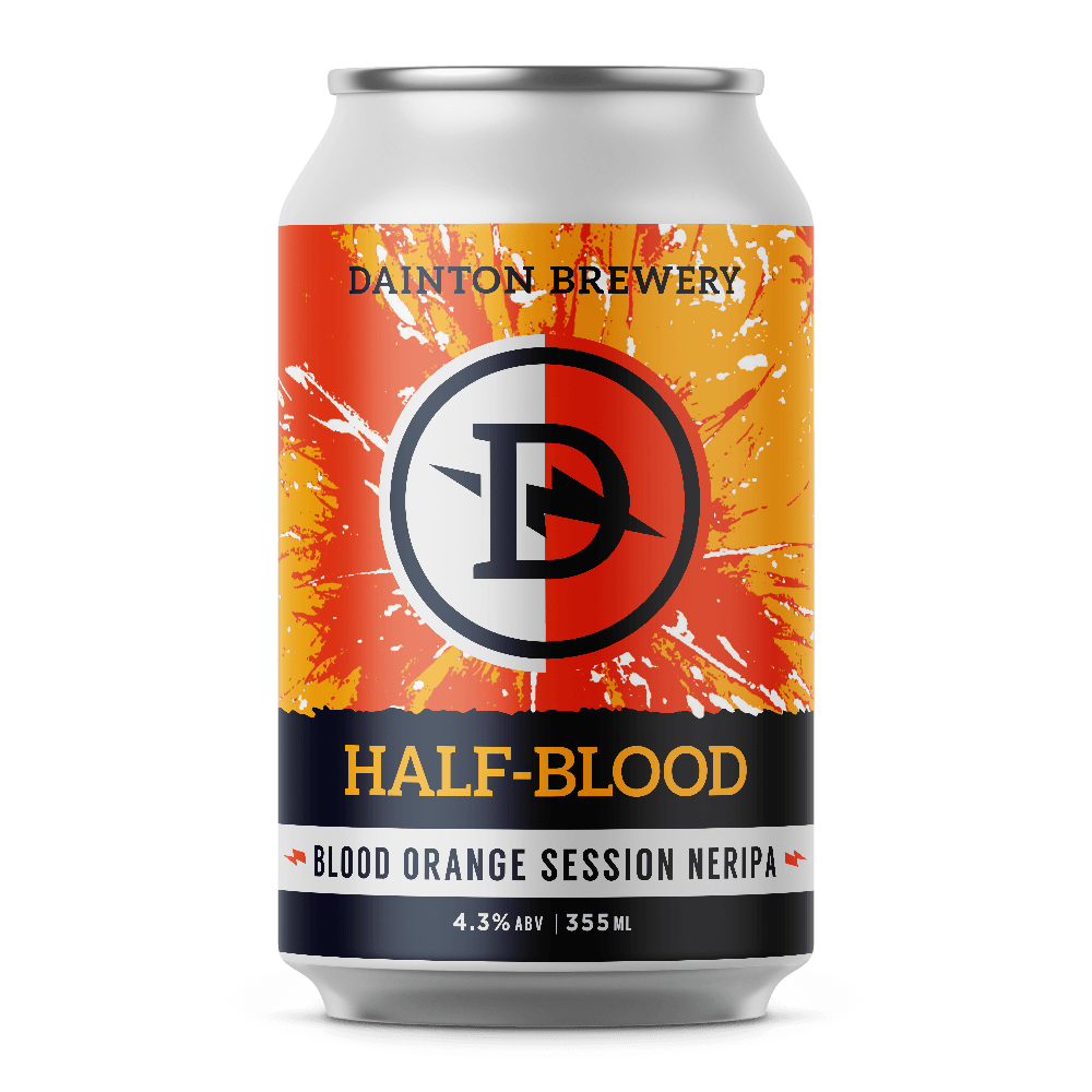 Dainton Brewery Half-Blood Blood Orange Session NERIPA