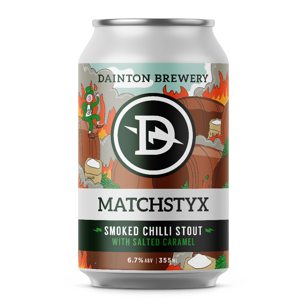 Dainton Brewery Matchstyx Smoked Chilli Stout with Salted Caramel
