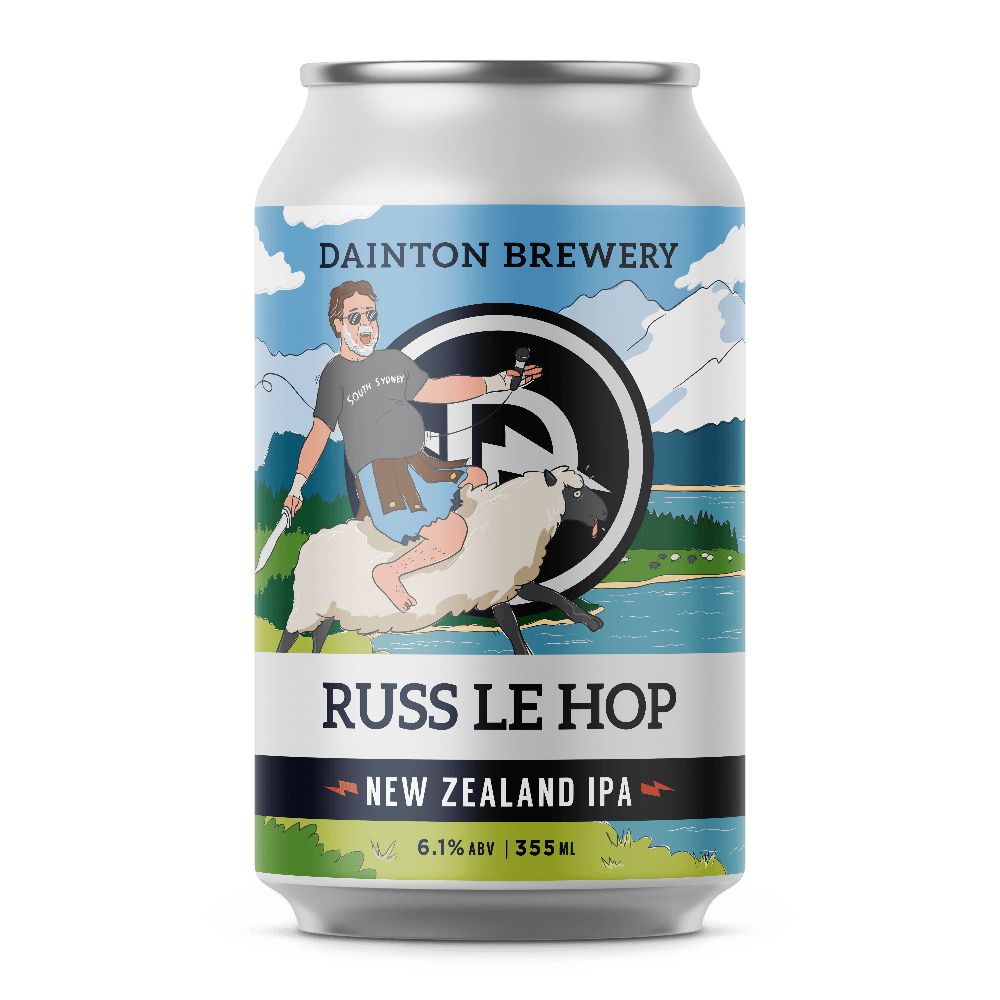 Dainton Brewery Russ Le Hop New Zealand IPA