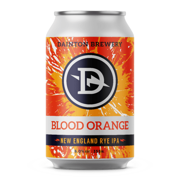Dainton Brewery Blood Orange New England Rye IPA