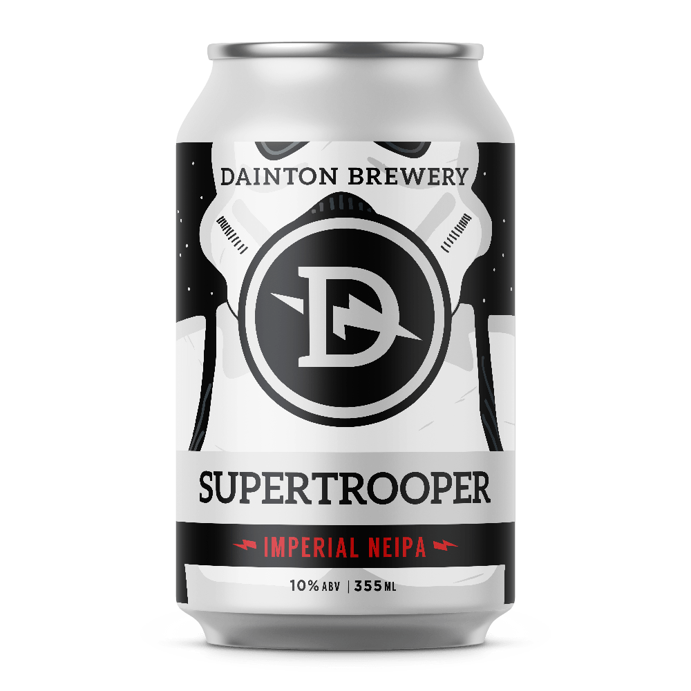 Dainton Brewery Supertrooper Imperial NEIPA