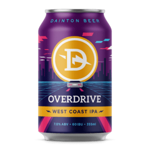 overdrive west coast ipa can