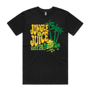 Black Jungle Juice Tee