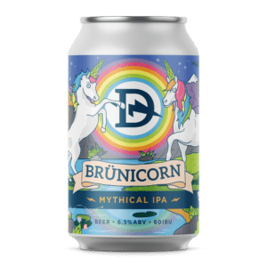 Brünicorn Hazy IPA Can