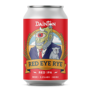 retro red eye can